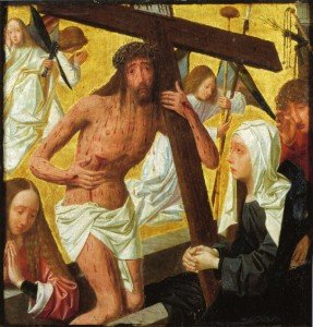 "Geertgen tot Sint Jans, ""Man of Sorrows"""